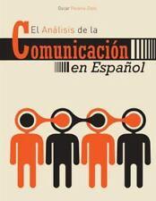 El Analisis de la Communicacion en Espanol, PEREIRA-ZAZO  OSCAR, Very Good Book