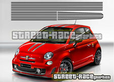Fiat 500 Ferrari Scuderia racing stripes decals stickers graphics