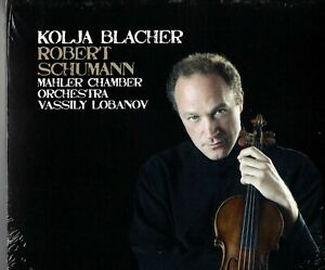 Kolja Blacher: Robert Schumann (+ Vassily Lobanov; Mahler Chamber Orch.) CD new