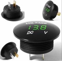 DC 12V-24V Car LED Light Panel Digital Voltage Volt Meter Display Voltmeter