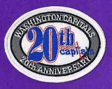 WASHINGTON CAPITALS 20th ANNIVERSARY NHL JERSEY PATCH