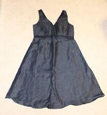 GAP Maternity Dark Blue Denim Sleeveless Sun Dress Size 4 NWT