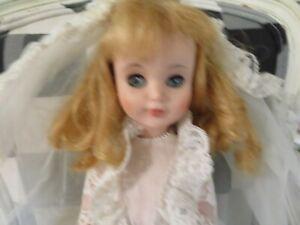 Vintage or Antique Madame Alexander Doll Rubber Wedding Doll Original Clothes