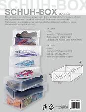 Schuh-Box transparent für Stiefel, Schuhaufbewahrung, Schuhkarton, Organizer