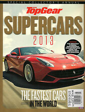 NEW! BBC Top Gear UK SUPERCARS 2013 Fastest Cars in the World New Car Guide $15