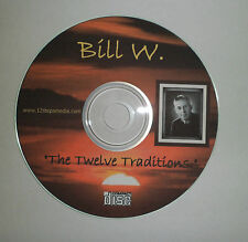 Bill W. 12 Twelve AA ALCOHOLICS ANONYMOUS CD SPEAKER TAPE FREE SHIPPING RARE