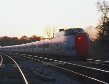 "CANADIAN NATIONAL RAILROAD TURBO 8""x10"" PHOTO from KODACHROME SLIDE"