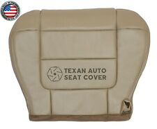 02 Ford F150 Lariat FX4 Crew Cab Driver Bottom Synthetic Leather Seat Cover Tan