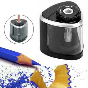 Students Desktop Automatic Electric Pencil Sharpener Battery Operated Tool