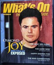 DONNY OSMOND JOY COVER 2005 LAS VEGAS MAGAZINE