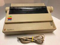 Apple Macintosh Imagewriter II 2 Printer Dot Matrix PARTS/REPAIR