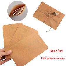 Beautiful Craft Diy office supplies Envelopes Vintage Stationery Kraft Paper