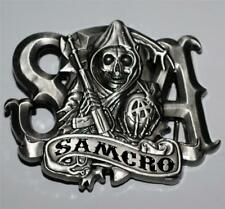 SONS OF ANARCHY SOA SAMCRO Motorcycle Drama TV Series Grim Reaper BELT BUCKLE