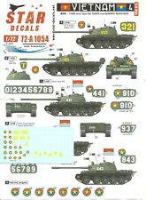 Star Decals 1/72 Vietnam 4 - NVA T-54B (and Type 59) Tanks and Generic Markings