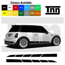 Side Stickers for Mini Cooper S One Side Car Vinyl Stripes Decal Clubman Graphic