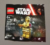 Star Wars The Force Awakens C-3PO Minifigure LEGO 5002948 2015 Polybagged Set