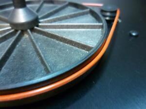 Rega Planar 1, 2, 3 NAD 533 Goldring GR1, 2 Turntable Red Silicone Drive Belt