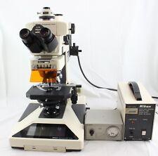 Nikon Microphot Fxa Microscope Dic Phase Contrast Darkfield Fluorescence