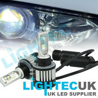 2x LIGHTEC MONDEO MK5 SUPER SLIM CANBUS H15 CANBUS LED DRL HIGH BEAM WHITE BULBS