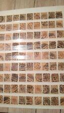 Reichspost, 81x Mi. Nr. 45, gestempelt, Tütenposten, schöne Farben und Stempel