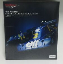 TRUE SCALE 1:18 TSM SET TYRRELL P34 F1 SWEDISH GP 1976 SCHECKTER #3 DEPAILLER #4