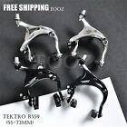 Tektro R559 Long Reach Caliper Brakes Black / Silver (55 - 73mm) Front & Rear