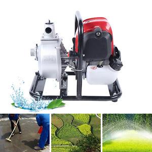 4 Stroke Gasoline Water Pump Pull Start Petrol Water Transfer High Pressure Pump