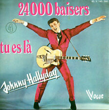 CD Single Johnny HALLYDAY	24000 Baisers 2-track CARD SLEEVE	Vogue 88697752892/4