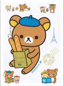 Rilakkuma Bear iPhone Samsung Body Skin Mini Sticker Sheet (2pcs)