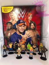 WWE WRESTLING BUSY BOOK - STORY 10 FIGURES AND A PLAYMAT FREE P+P