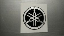 ****Yamaha Tuning Fork Gel Resin Decal Badge Sticker 50mm****fz6 fazer