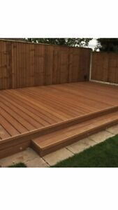 Composite Decking Boards 3.6m Teak, £20 Per Board