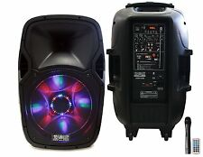 Absolute PRO Series USBAT3000 DJ/KARAOKE/PA SPEAKER System 3000w Bluetooth