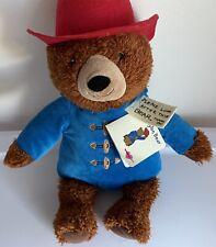 Kohl's Cares Paddington Bear Plush Kohls Plush Soft Stuffed Doll New