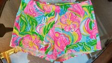 Lilly Pulitzer Jeannie Short Multi So A Peeling Size 6  21019