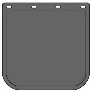 "Plain Black mudflap 18"" x 18"". Mitsibishi Fuso,Isuzu,Hino,UD,Tow Truck,Japanese"