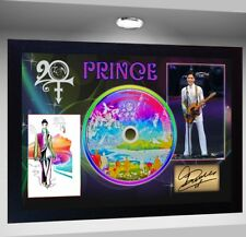 Prince FRAMED PHOTO CD Disc 20TEN Perfect gift