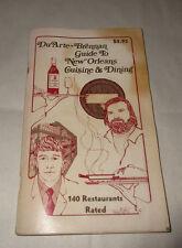 DuArte Brennan Guide To News Orleans Cusine & Dining 140 Restaurants 1st 1976 PB