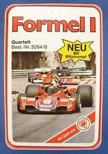 Quartett - Formel 1 - ASS - Nr. 3264/6 -- von 1977 -- Auto - Kartenspiel