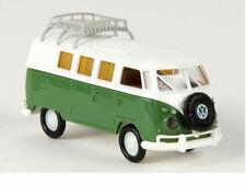 Brekina 31565 VW Camper T1b weiß resedagrün mit Dachklappe Volkswagen 1:87 Neu