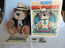 Lands' End/Gund Rugby Bear Owner Big Daddy Bear with Box and Tag