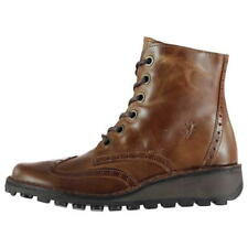 Fly London Marl Brogue Boot Ladies  UK 3 EUR 36 REF 4248-