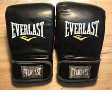 Everlast Adult Black w/Red Boxing Gloves Large/X-Large