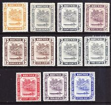 Brunei 1924-47 range of mint stamps, cv £90