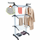 Large Folding Laundry Drying Rack Portable Clothes Dryer Hanger Storage Stand US
