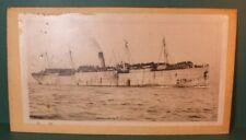Rare E. Muller Jr. Ny All Hands On Deck Uss Virginia Battleship Cargo Photo Z53