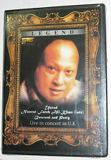 USTAD NUSRAT FATEH ALI KHAN (LATE) QAWWAL AND PARTY LIVE IN CONCERT IN UK DVD