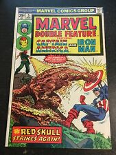 Marvel Double Feature#5 Incredible Condition 7.5(1974) Red Skull