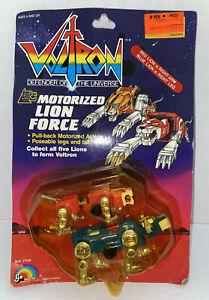 1984 LJN Voltron Motorized Lion Force Red and Blue Lion NIP Vintage
