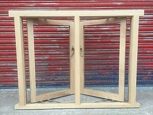 Solid Oak Timber Casement Window!!! Made To Measure!!! Bespoke!! High Quality!!!